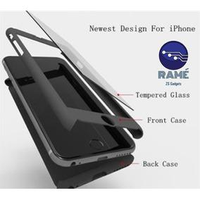 Case 360º + Vidrio Templado Para Iphone 5, 6 Y 6plus - 2017