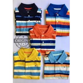 Polo Tommy Hilfiger Infantil Original 4-5a Camisa Camiseta