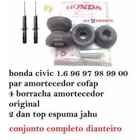 Par Amortecedor Honda Civic 96 97 98 99 00 Completo Cofap