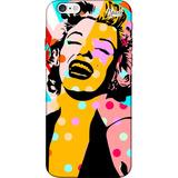 Capa Capinha Para Celular Spark Cases Marilyn Monroe Pop Art