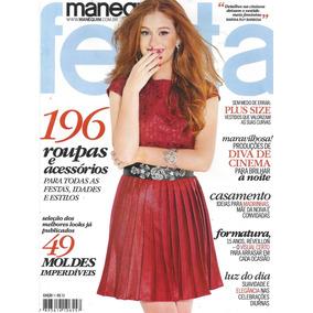 Revista Manequim Festa = Marina Ruy Barbosa Jn 2017 Lacrada!