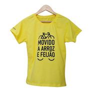 Camiseta Arroz Com Feijão, Ecológica - 100% Algodão Orgânico