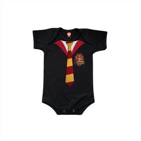 Body De Bebê Harry Potter Grifinória