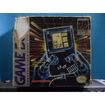 Nintendo Game Boy Classic Completo Com Caixa + Tetris Gb Gbc