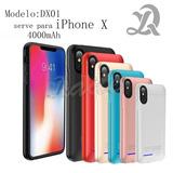 Bateria Externa Capa Case Iphone X 4000mah Recarregavel
