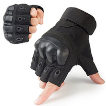 Juicy Tactical Guantes Militar Fingerless Rubber Duro Nud...