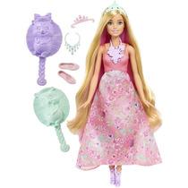 Barbie Muñeca Dreamtopia Princesa Cabello Mágico