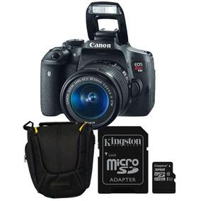 Camara Reflex Canon Oficial T6 18-55 32gb Mem Estuche