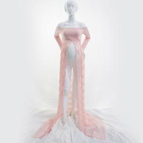 Vestido Fotogragia Gestante Pronta Entrega