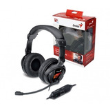 Auriculares Genius Gamer Con Vibración - Red Technology
