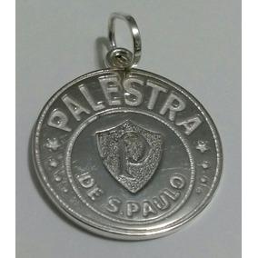 Palmeiras Palestra De São Paulo Medalha Em Prata 925