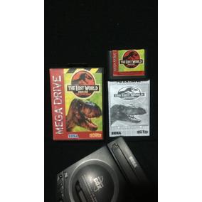 Jurassic Park The Lost World Mega Drive Original Jogo