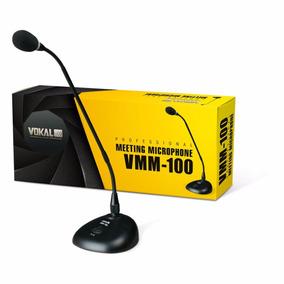 Microfone Gooseneck Vokal De Mesa Pulpito Vmm100 - Kadu Som