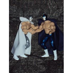Lote De 2 Luchadores Blue Demon Vs Santo Enmascarado De Plat