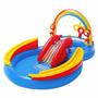Alberca De Juegos Inflable Para Niños Arcoiris Envio Gratis