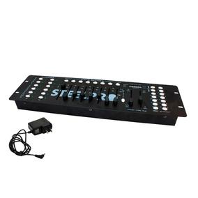 Steelpro Controlador Dmx 512 Luz Disco Led 192 Canales