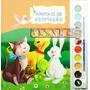 Livro Com Aquarela - Animais Estimação Pintura Arte Infaltil