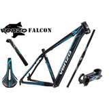 Kit Quadro Venzo Falcon 29 +canote+selim+guidão+mesa Top !!!