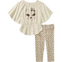 Conjunto Blusa Pantalón Para Niña Talla 3 Envio Gratis