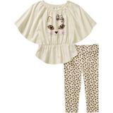 Conjunto Blusa Pantalón Para Niña Talla 3 Y 4 Años