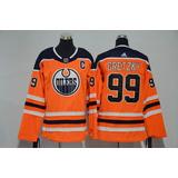 Camisa Nhl Edmonton Oilers Wayne no Mercado Livre Brasil 3206e461335