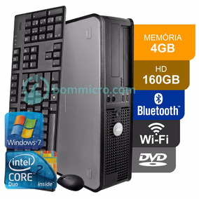 Pc Desktop Cpu Dell Optiplex Core 2 Duo 4gb Hd 160gb Dvd