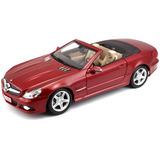 Maisto 1:18 Escala De Mercedes-benz Sl550 Fundido Vehículo