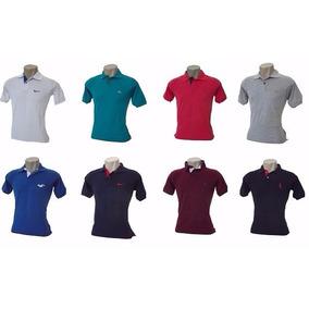 Kit 10 Camisas Polo Masculina Camisetas Polo Frete Grátis