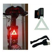 Luz Trasera Recargable De Bicicleta Impermeable Maxima Potencia - Lanús