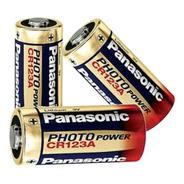 Bateria Photo Lithium Cr123a 3v Com Kit Com 5 Unidade