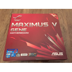 Asus Maximus V Gene + I7-3770k + Corsair Vengeance Ddr3 8gb
