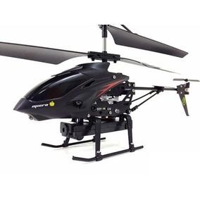 Mini Helicóptero Wl S977 3.5ch Câmera Espiã Pronta Entrega