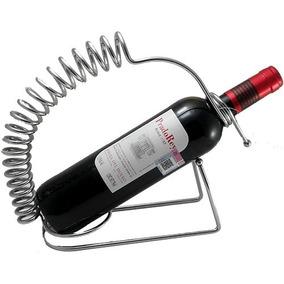 Soporte Metalico Para Botella De Vino