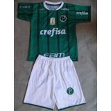 Conjunto Infantil Palmeiras Frete Gratis P  Todo Brasil 1671f8419560a