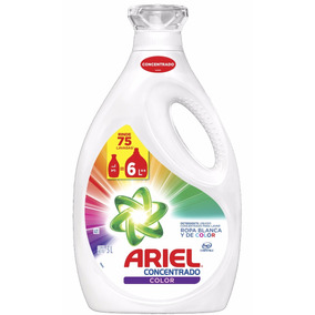 Detergente Líquido Ariel Power Liquid Color 3 Lts