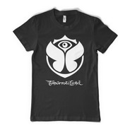Tomorrowland Logo Remera Dj Color Animal