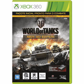 World Of Tanks Xbox 360 Midia Fisica
