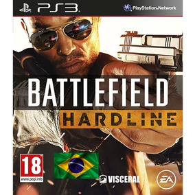 Ps3 Battlefield Hardline Dublado Portugues Brasil Psn Play3