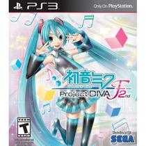 Hatsune Miku: Project Diva F 2nd (mídia Física) - Ps3