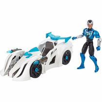 Boneco Max Steel Veiculo Transformador - Mattel