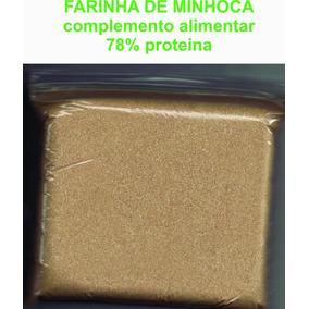 Farinha De Minhoca
