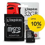 Memoria Kingston Micro Sd Hc 32gb Clase 10 Hd Original