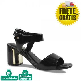 a5f2de4ee Sapato Ramarim Total Confort 37preto Verniz Sapatos Feminino ...