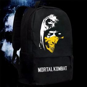 Mochila Escolar Mortal Kombat Juvenil Unissex