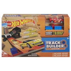 Hotwheels Track Builder Lançador Looping Ou Lançador Rápido