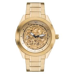 Relógio Technos Masculino Automático 8n24ah/4x Esqueleto Dou