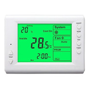 Termostato Digital Programable 5+2 Dias Frio Calor Envio