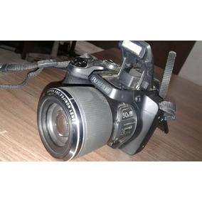 Câmera Fotográfica Zoom 50x E Filmadora Hd Fujifilm