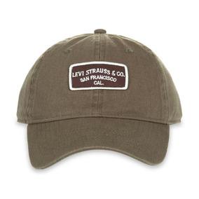 Gorra Levi´s Verde Cachucha Levis Ajustable Original Hombre