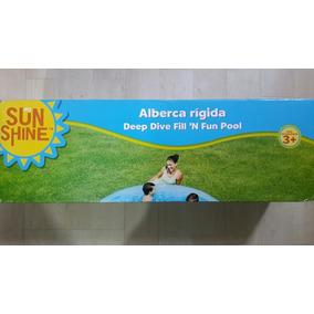 Alberca Infantil Redonda 1.83 Mts Diámetro 38 Ctms Profundo